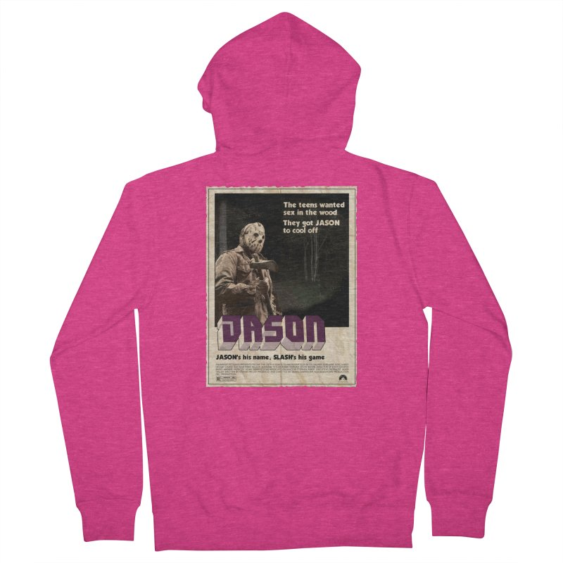 Jason Shaft Women's French Terry Zip-Up Hoody by oldtee's Artist Shop