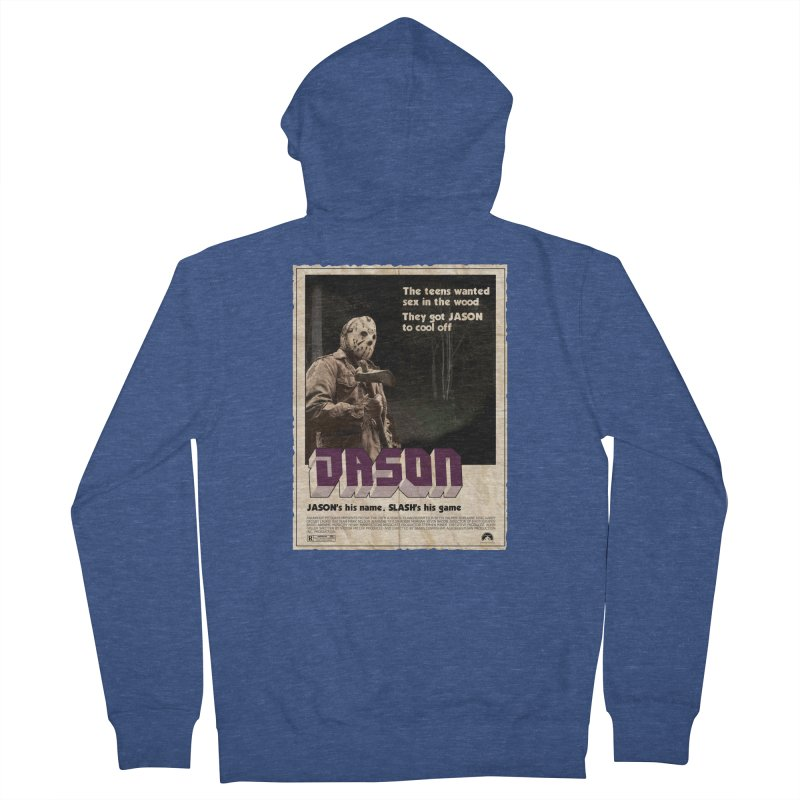 Jason Shaft Men's French Terry Zip-Up Hoody by oldtee's Artist Shop