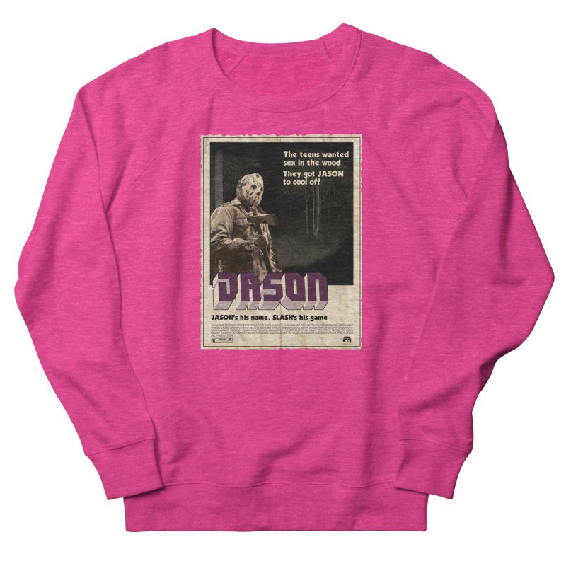 Jason Shaft Women's French Terry Sweatshirt by oldtee's Artist Shop