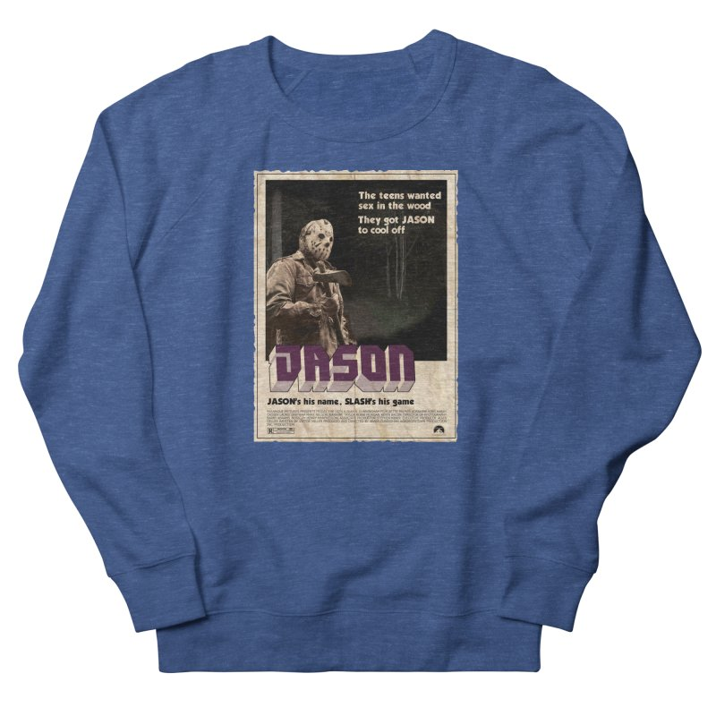 Jason Shaft Men's French Terry Sweatshirt by oldtee's Artist Shop