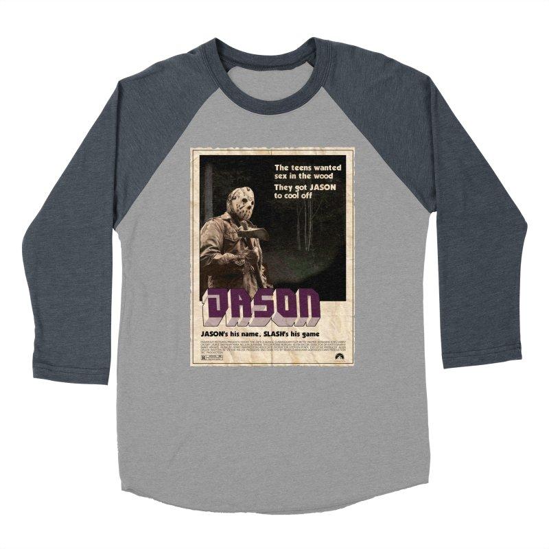 Jason Shaft Women's Baseball Triblend Longsleeve T-Shirt by oldtee's Artist Shop
