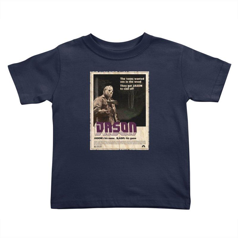 Jason Shaft Kids Toddler T-Shirt by oldtee's Artist Shop