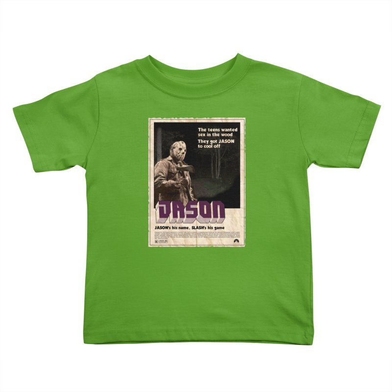 Jason Shaft Kids Toddler T-Shirt by oldtee's Artist Shop