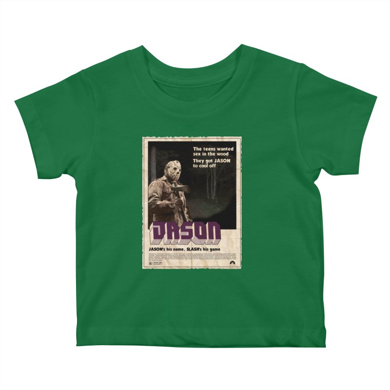 Jason Shaft Kids Baby T-Shirt by oldtee's Artist Shop
