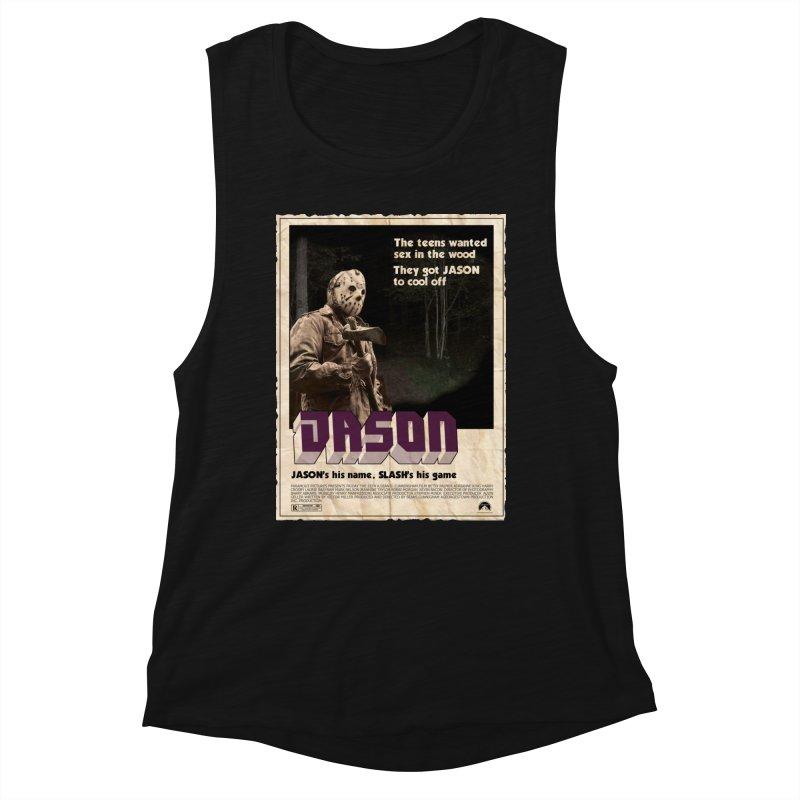 Jason Shaft Women's Muscle Tank by oldtee's Artist Shop