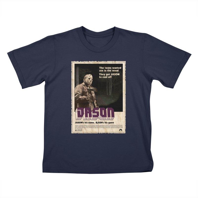 Jason Shaft Kids T-Shirt by oldtee's Artist Shop