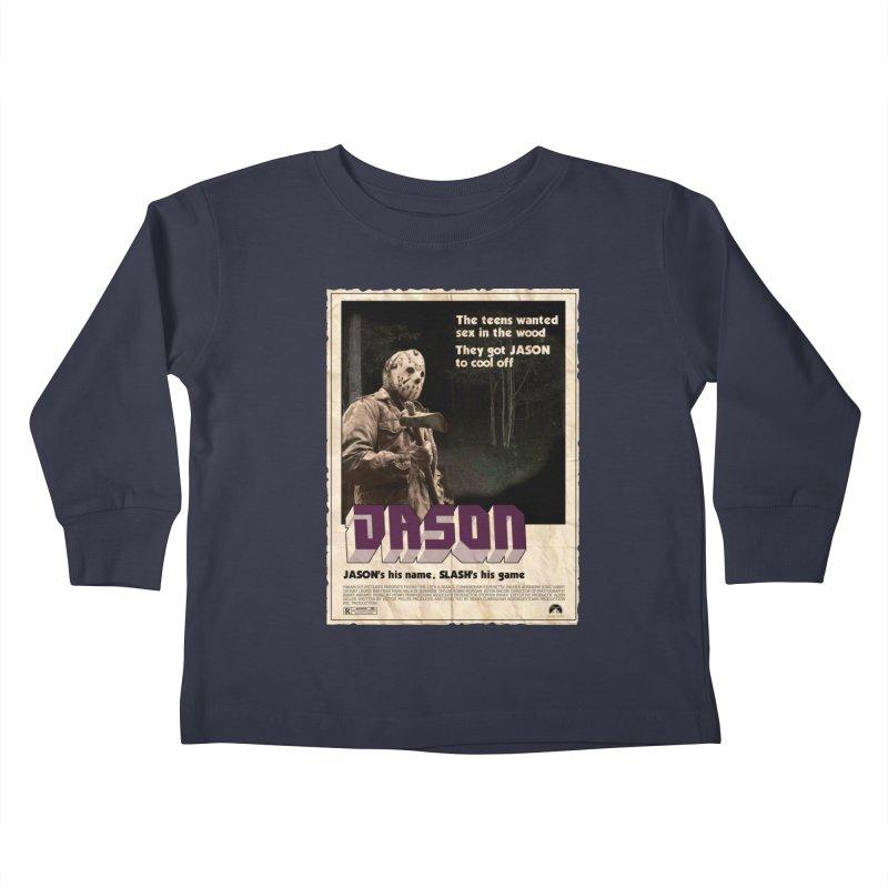 Jason Shaft Kids Toddler Longsleeve T-Shirt by oldtee's Artist Shop