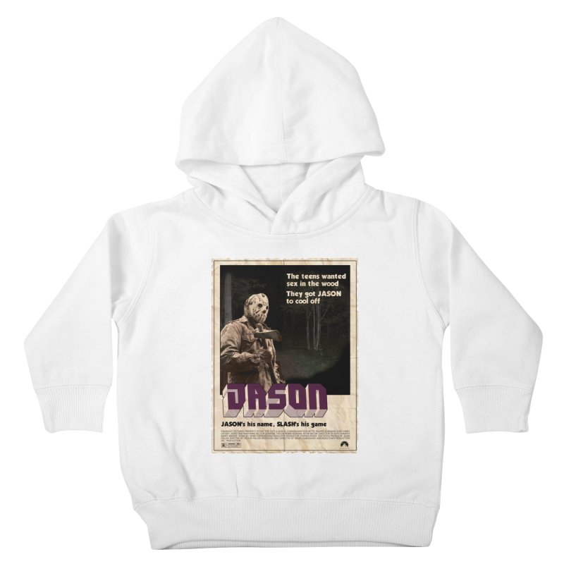 Jason Shaft Kids Toddler Pullover Hoody by oldtee's Artist Shop