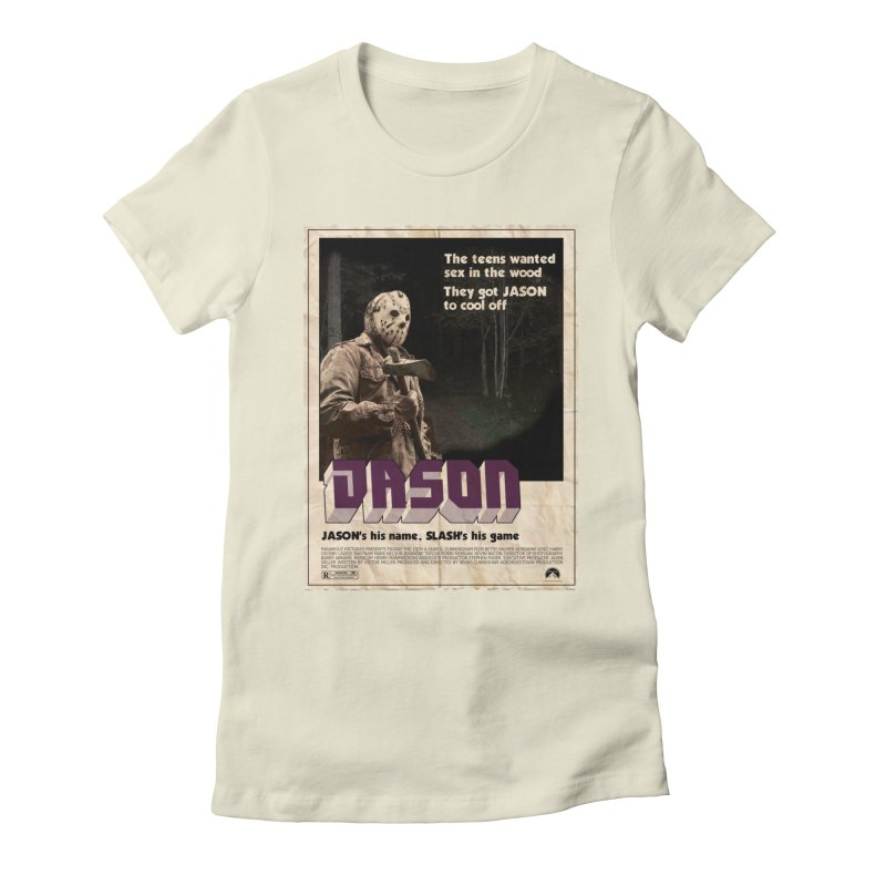 Jason Shaft Women's Fitted T-Shirt by oldtee's Artist Shop