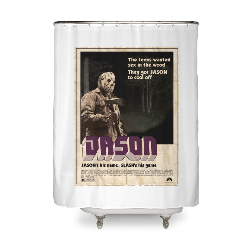 Jason Shaft Home Shower Curtain by oldtee's Artist Shop