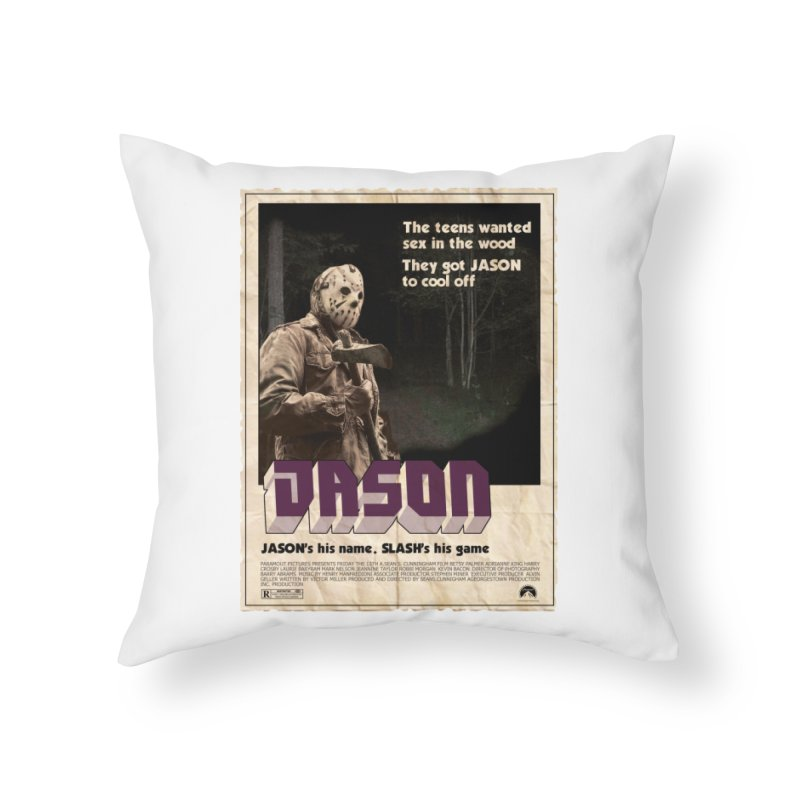 Jason Shaft Home Throw Pillow by oldtee's Artist Shop