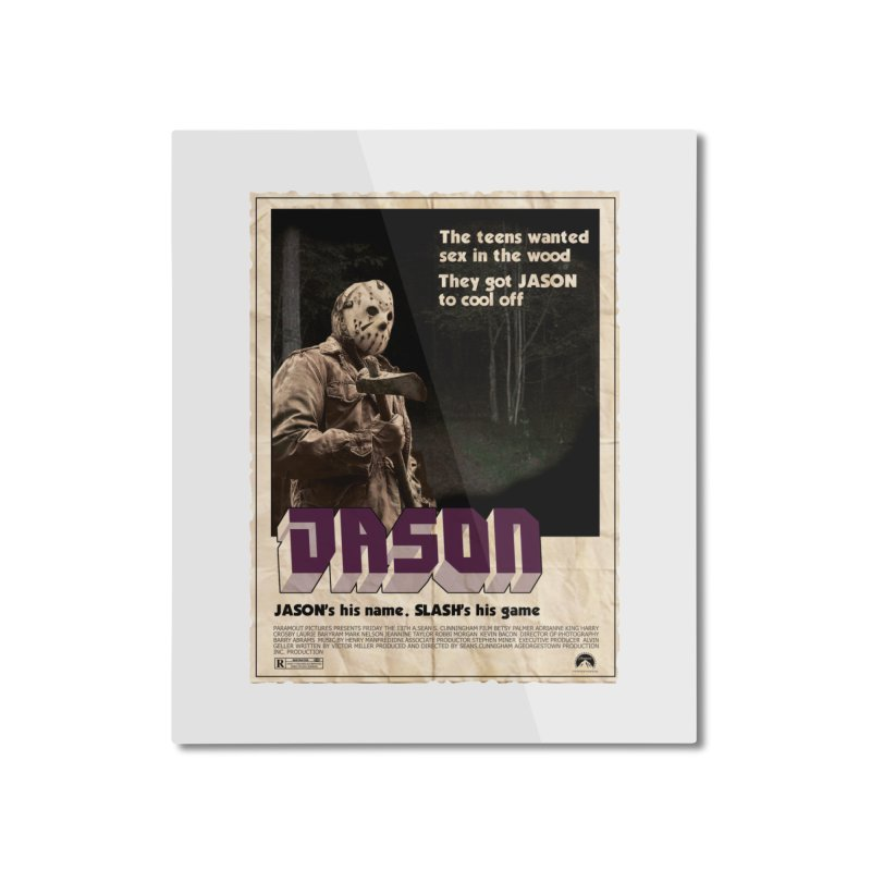 Jason Shaft Home Mounted Aluminum Print by oldtee's Artist Shop