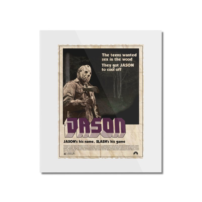 Jason Shaft Home Mounted Acrylic Print by oldtee's Artist Shop