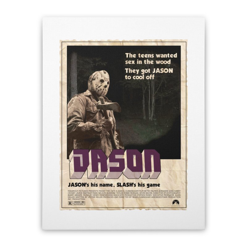 Jason Shaft Home Stretched Canvas by oldtee's Artist Shop