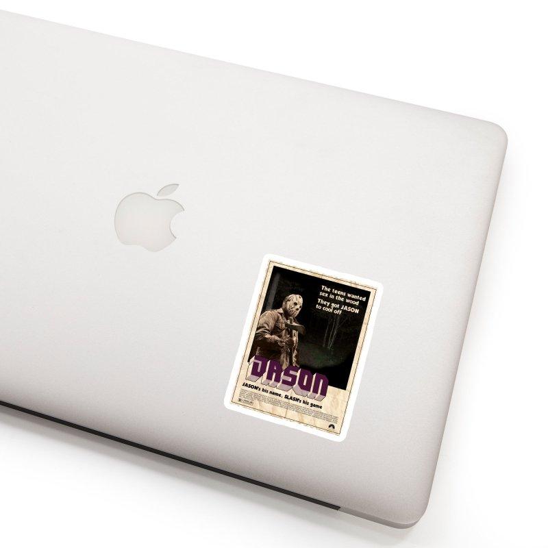 Jason Shaft Accessories Sticker by oldtee's Artist Shop