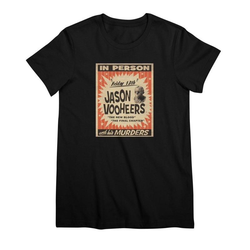 Jason in Person Women's Premium T-Shirt by oldtee's Artist Shop
