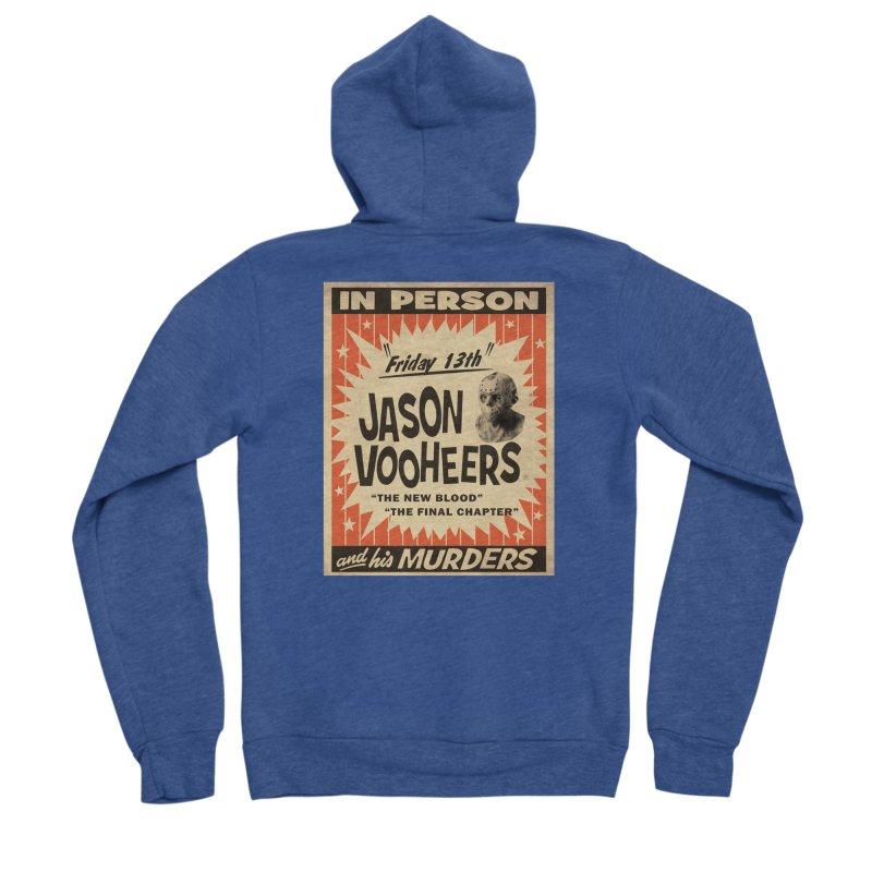 Jason in Person Women's Sponge Fleece Zip-Up Hoody by oldtee's Artist Shop