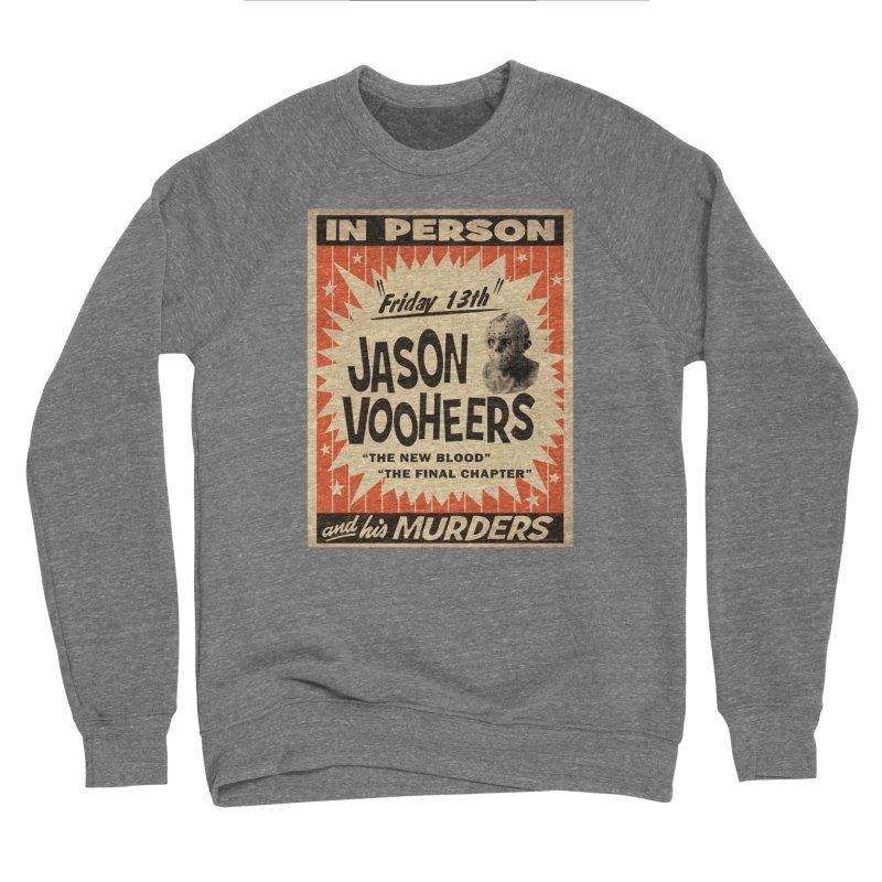 Jason in Person Men's Sponge Fleece Sweatshirt by oldtee's Artist Shop