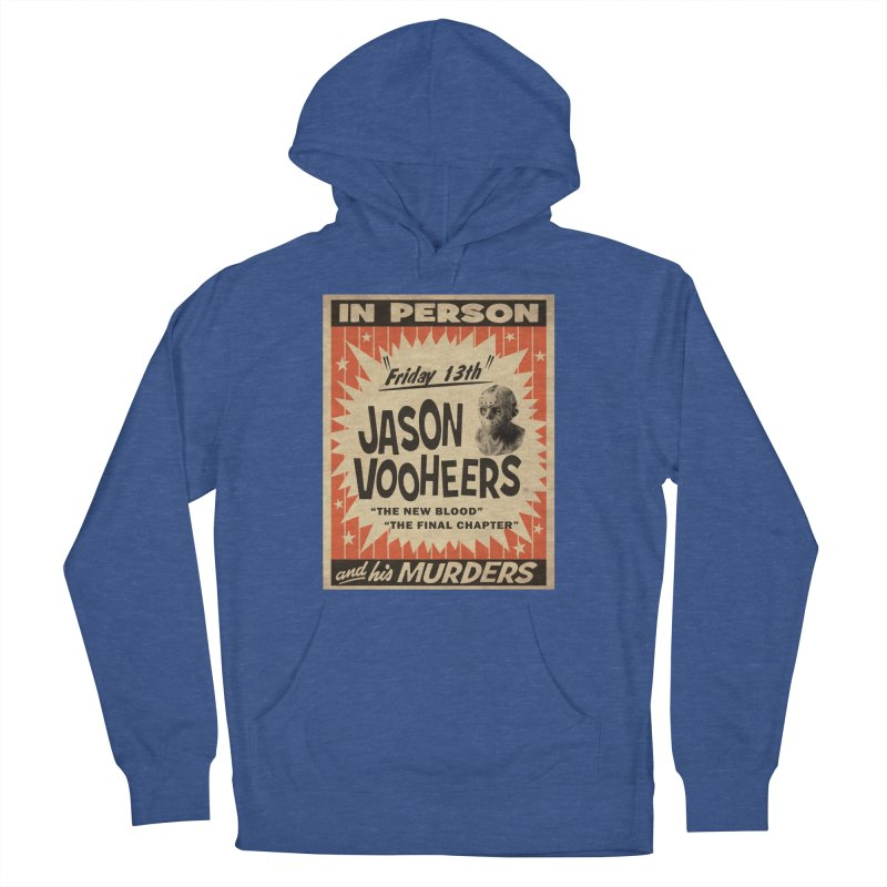 Jason in Person Women's French Terry Pullover Hoody by oldtee's Artist Shop