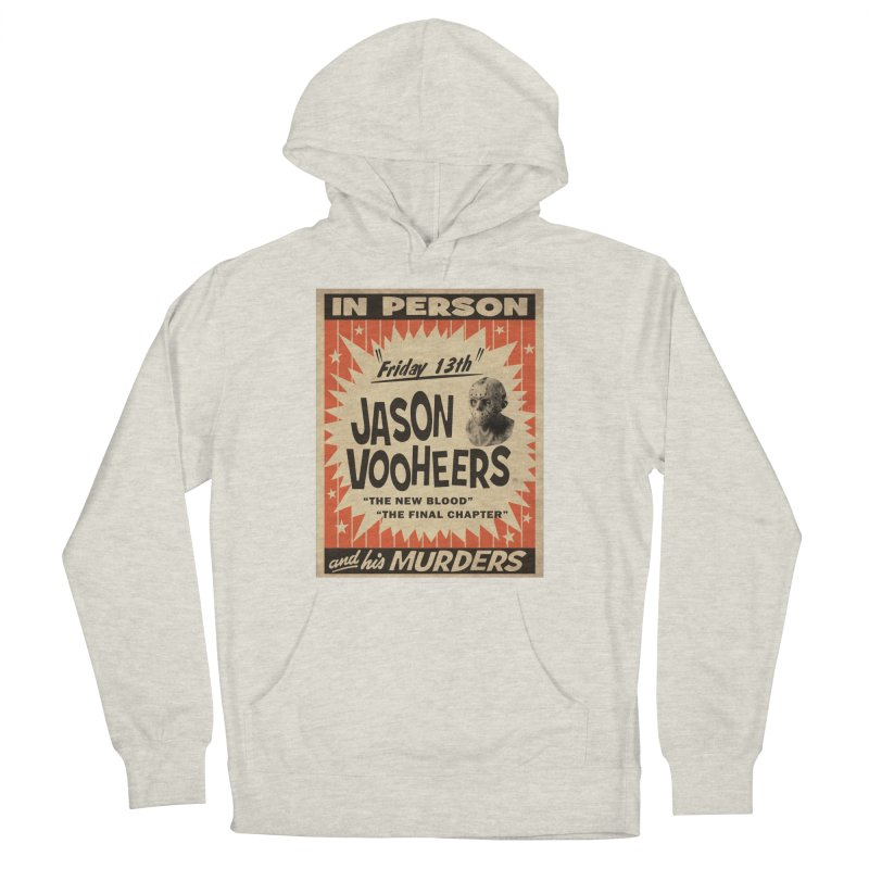 Jason in Person Men's French Terry Pullover Hoody by oldtee's Artist Shop