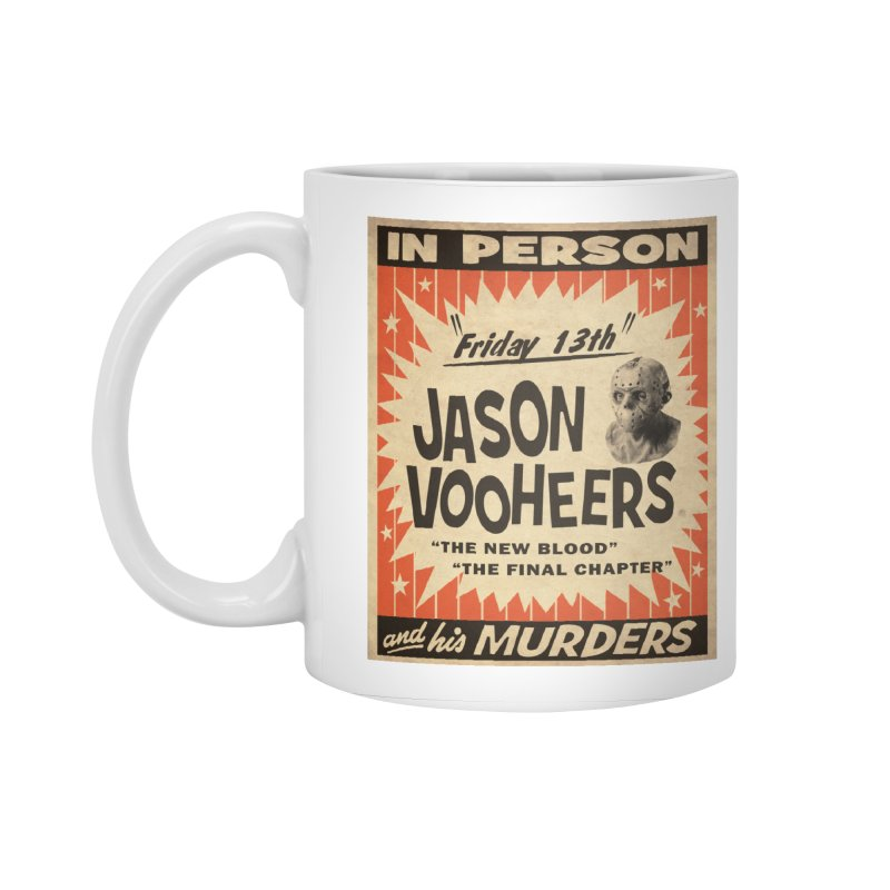 Jason in Person Accessories Standard Mug by oldtee's Artist Shop