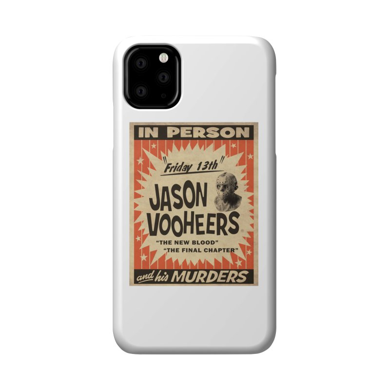 Jason in Person Accessories Phone Case by oldtee's Artist Shop
