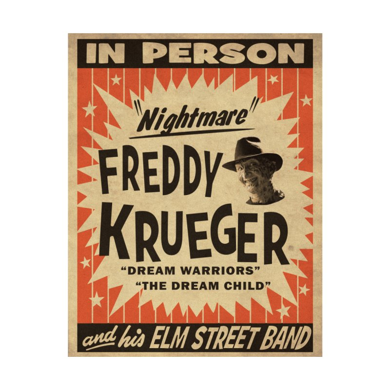 Freddy in person Kids T-Shirt by oldtee's Artist Shop