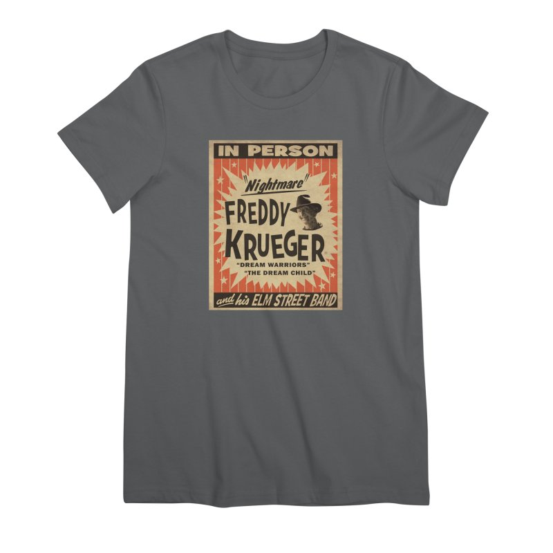 Freddy in person Women's Premium T-Shirt by oldtee's Artist Shop