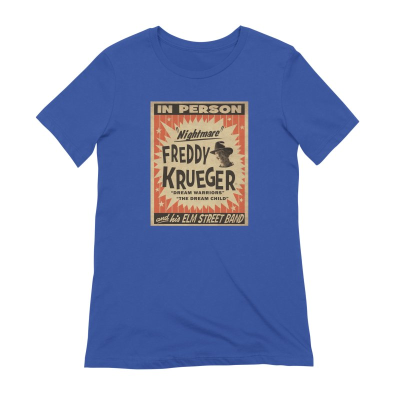 Freddy in person Women's Extra Soft T-Shirt by oldtee's Artist Shop