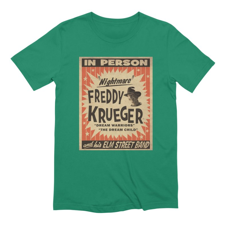 Freddy in person Men's Extra Soft T-Shirt by oldtee's Artist Shop