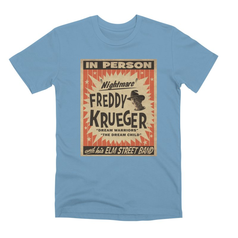 Freddy in person Men's Premium T-Shirt by oldtee's Artist Shop