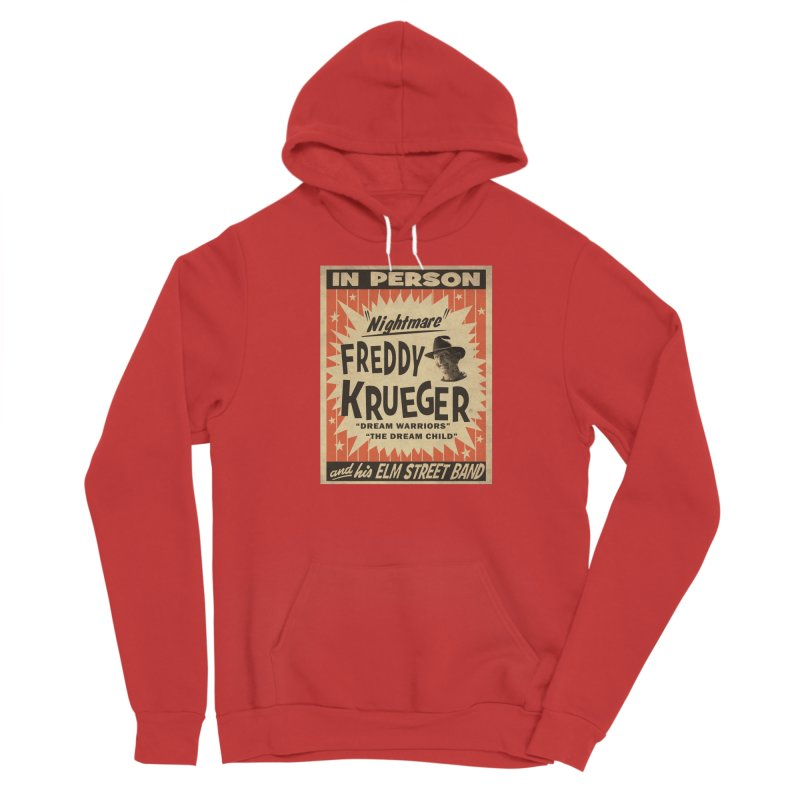 Freddy in person Men's Pullover Hoody by oldtee's Artist Shop