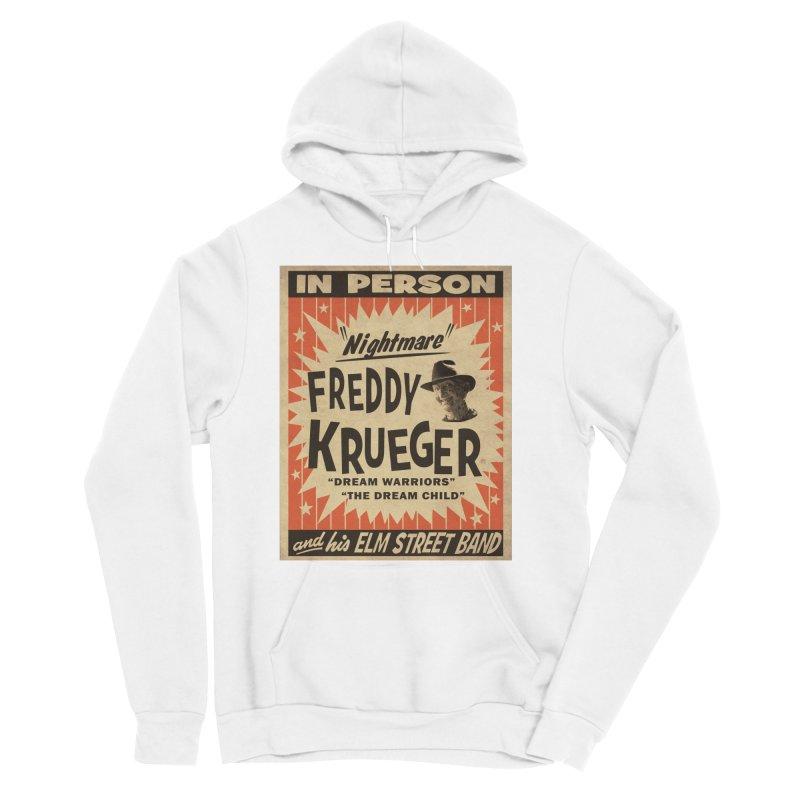 Freddy in person Women's Sponge Fleece Pullover Hoody by oldtee's Artist Shop