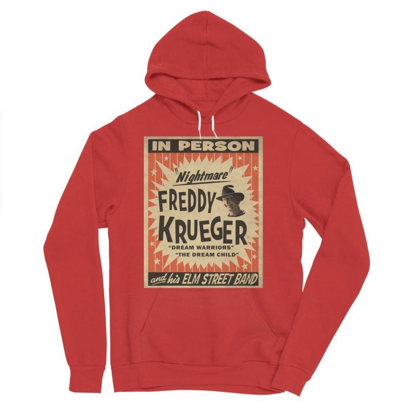 Freddy in person Men's Sponge Fleece Pullover Hoody by oldtee's Artist Shop