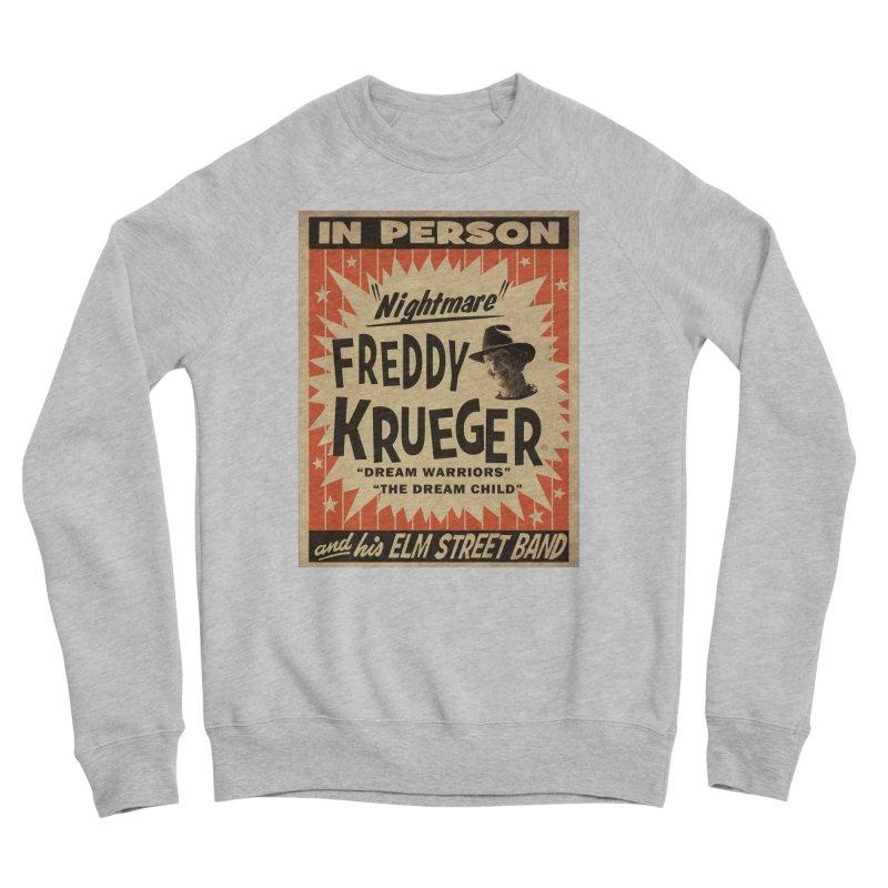 Freddy in person Men's Sponge Fleece Sweatshirt by oldtee's Artist Shop