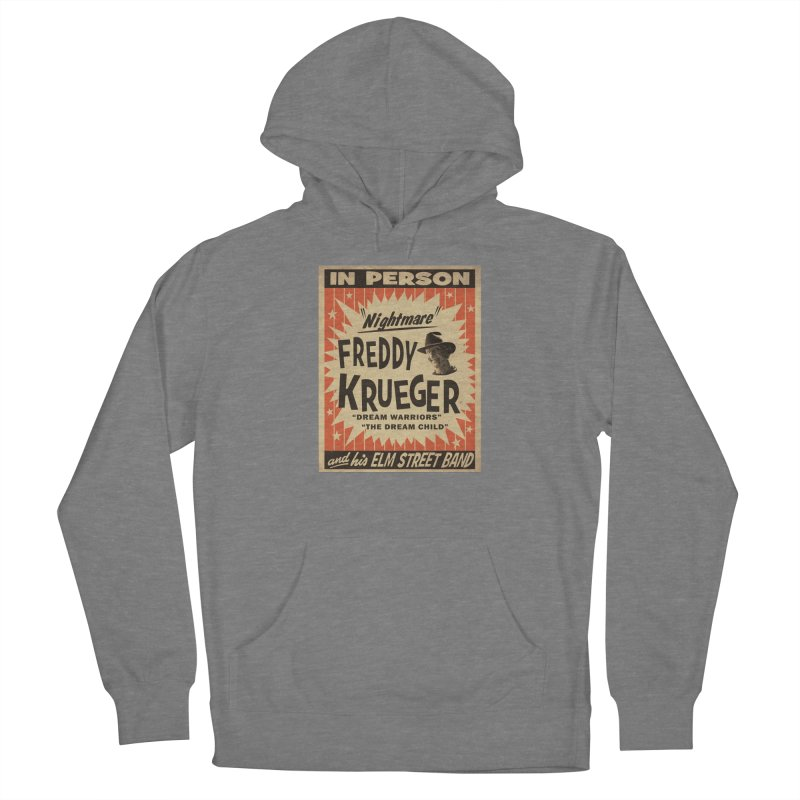 Freddy in person Women's Pullover Hoody by oldtee's Artist Shop