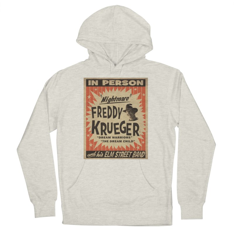 Freddy in person Women's French Terry Pullover Hoody by oldtee's Artist Shop