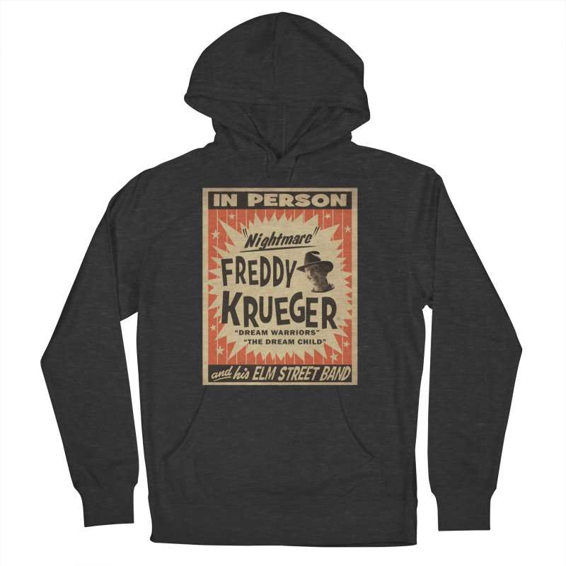 Freddy in person Men's French Terry Pullover Hoody by oldtee's Artist Shop