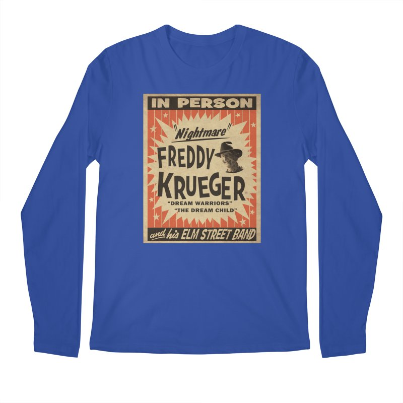 Freddy in person Men's Regular Longsleeve T-Shirt by oldtee's Artist Shop