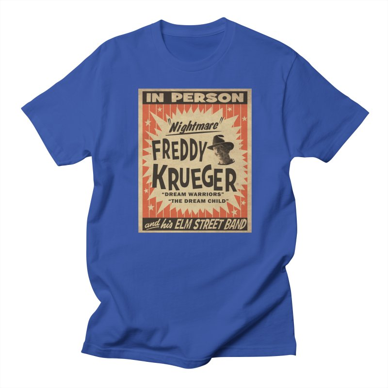 Freddy in person Women's Regular Unisex T-Shirt by oldtee's Artist Shop