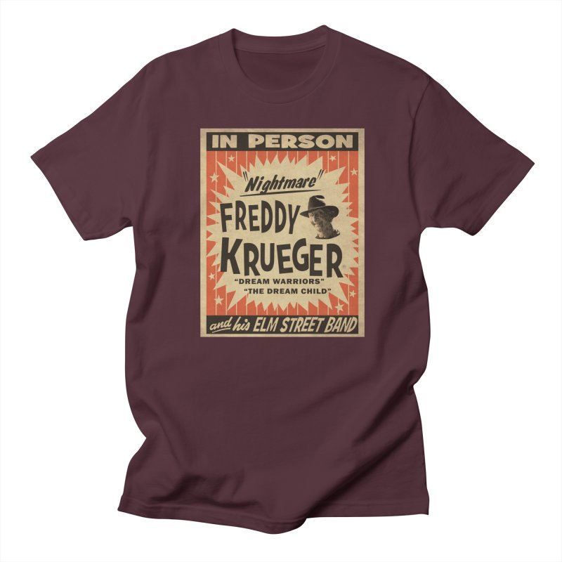 Freddy in person Men's Regular T-Shirt by oldtee's Artist Shop