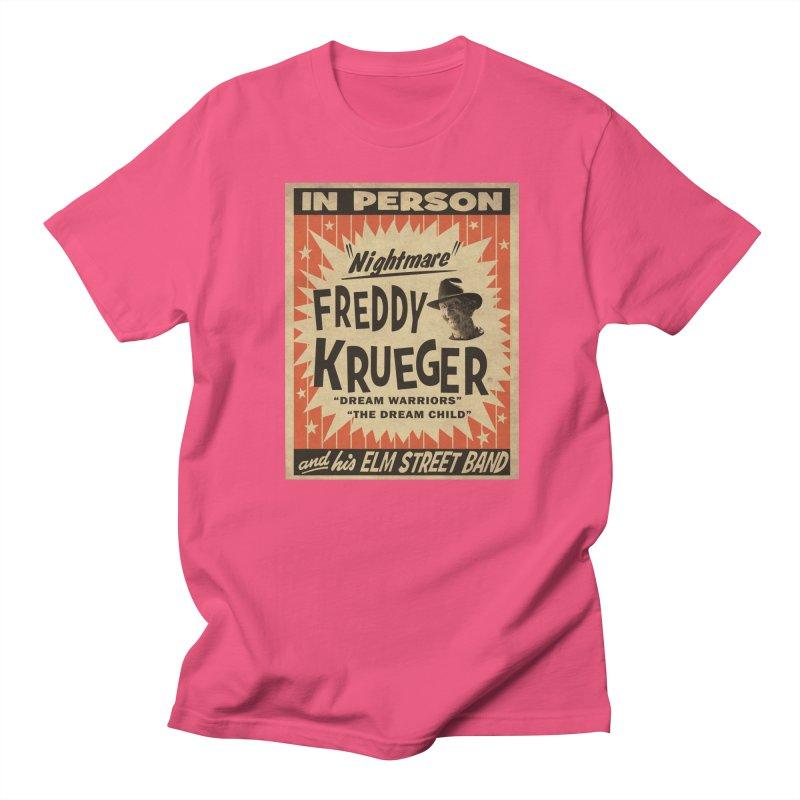 Freddy in person Women's Regular Unisex T-Shirt by oldtee's Artist Shop