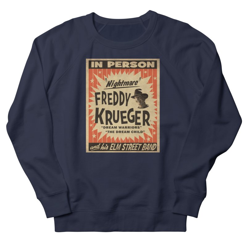 Freddy in person Women's French Terry Sweatshirt by oldtee's Artist Shop