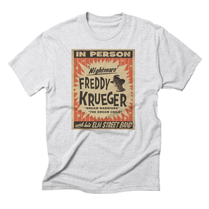 Freddy in person Men's Triblend T-Shirt by oldtee's Artist Shop