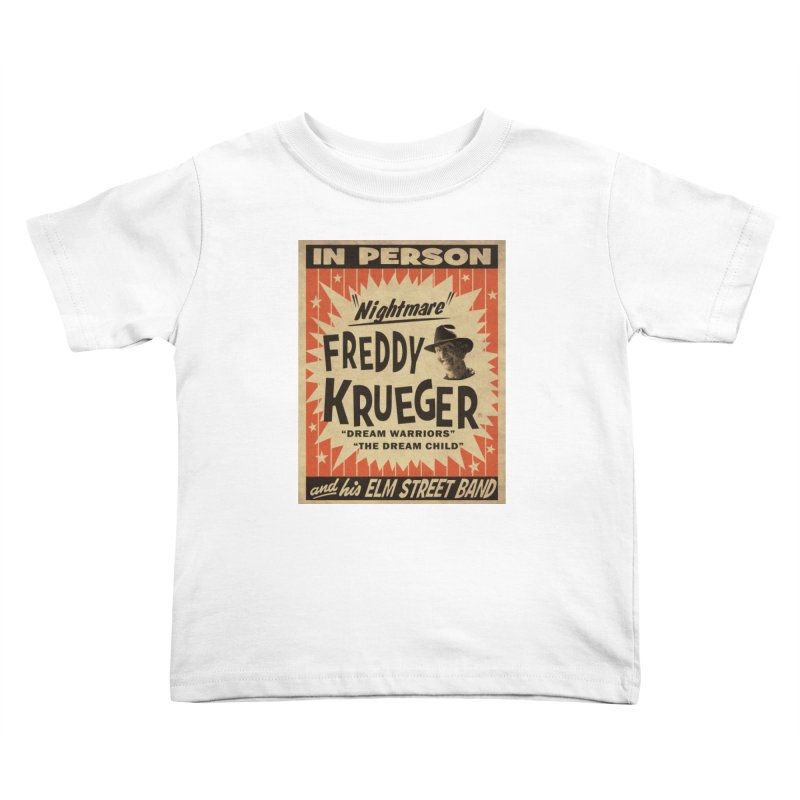 Freddy in person Kids Toddler T-Shirt by oldtee's Artist Shop