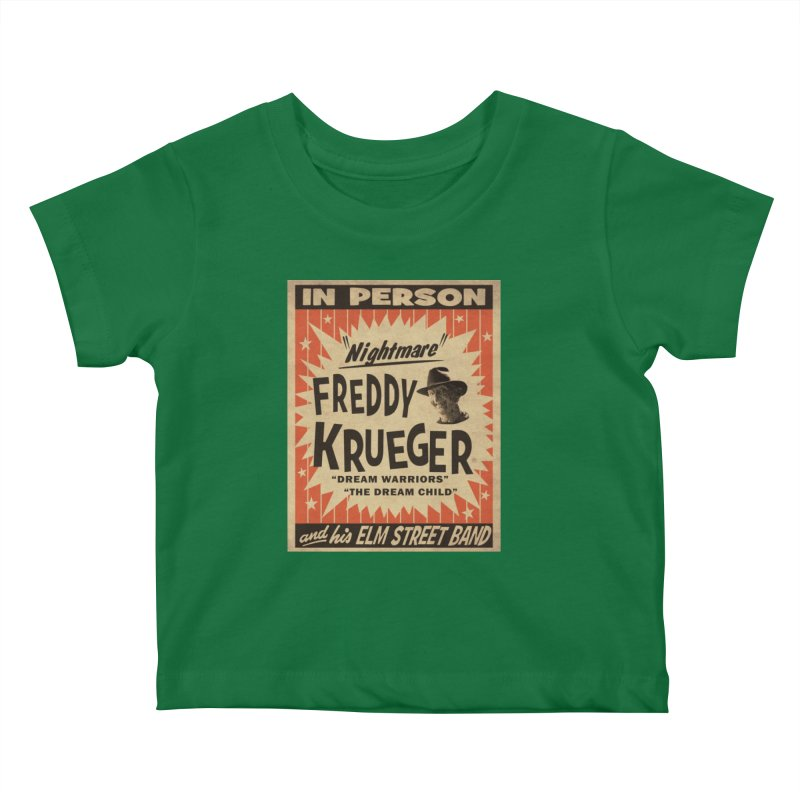 Freddy in person Kids Baby T-Shirt by oldtee's Artist Shop