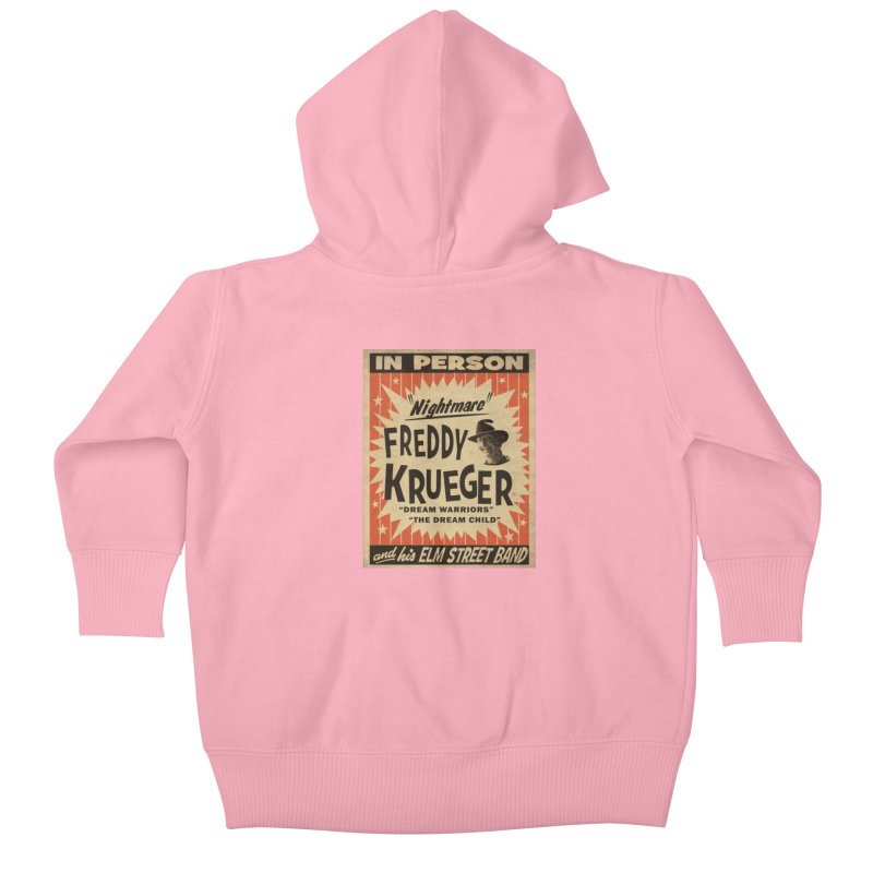Freddy in person Kids Baby Zip-Up Hoody by oldtee's Artist Shop