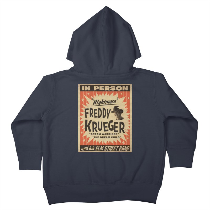 Freddy in person Kids Toddler Zip-Up Hoody by oldtee's Artist Shop