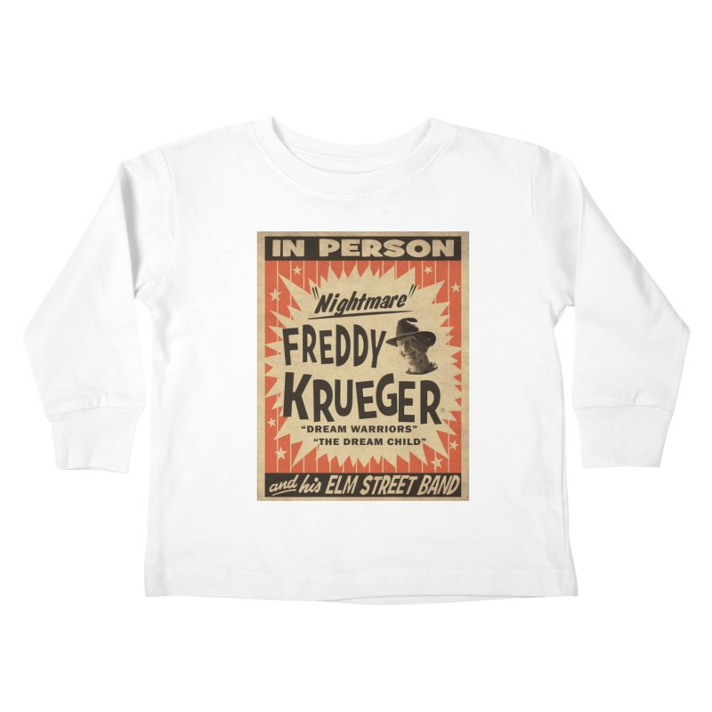 Freddy in person Kids Toddler Longsleeve T-Shirt by oldtee's Artist Shop