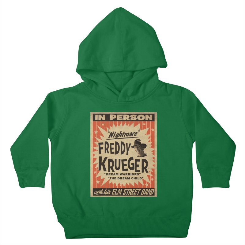 Freddy in person Kids Toddler Pullover Hoody by oldtee's Artist Shop